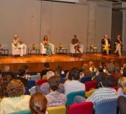CIDADES CRIATIVAS - SÃO PAULO (SP) - 26.03.2012 - GERAL - LANÇAMENTO DO LIVRO CIDADES CRIATIVAS E DEBATE SOBRE O PAPEL DA COPA E OLIMPIADAS PARA O PAIS. REALIZADO NO MUSEU DO FUTEBOL. FOTO: JOSE CORDEIRO/SPTURIS