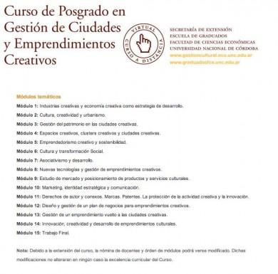 Curso-de-Gestão-de-Cidades-e-Empreendimentos-Criativos-UNC-2012