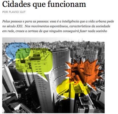 «Cidades que funcionam»