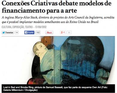"""""""Conexões Criativas debate modelos de financiamento para a arte"""""""