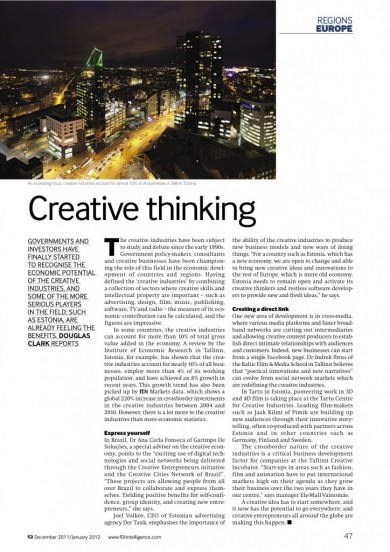 «Creative Thinking»