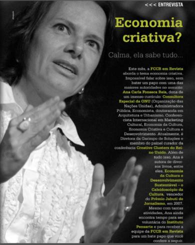 "«Economia Criativa?…. Calma, ela sabe tudo…"""