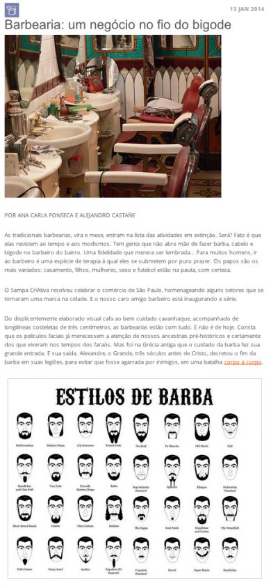 «Barbearia: um negócio no fio do bigode»