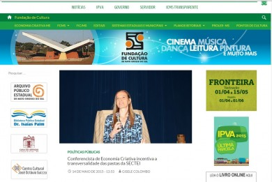 Conferencista de Economia Criativa incentiva a transversalidade das pastas da SECTEI