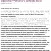 La Economía creativa en cuestión - desconstruyendo una Torre de Babel (Espanha)