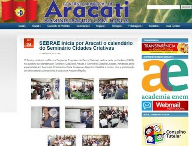 SEBRAE inicia por Aracati o calendário do Seminário Cidades Criativas