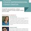 Oficinas Cidades Criativas  Empreendedoras de Minas Gerais Sebrae – Juiz de Fora