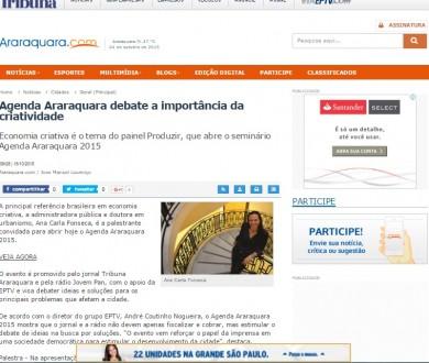 Agenda Araraquara debate a importância da criatividade