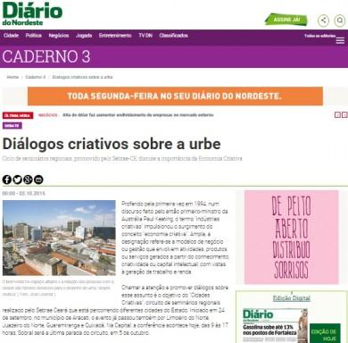 Diálogos criativos sobre a urbe