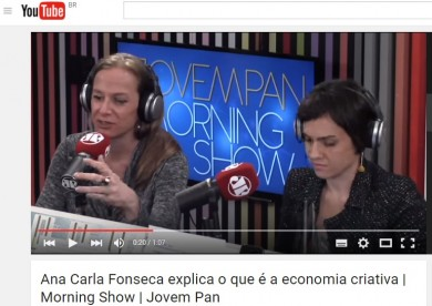 Ana Carla Fonseca explica o que é a economia criativa | Morning Show | Jovem Pan