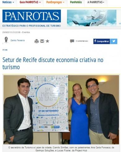 Setur de Recife discute economia criativa no turismo
