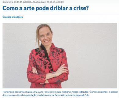 Como a arte pode driblar a crise?