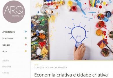 Economia criativa e cidade criativa