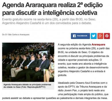 Agenda Araraquara realiza 2a. edição para discutir inteligência coletiva