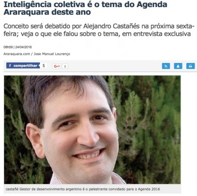 Inteligência Coletiva é o tema do Agenda Araraquara deste ano