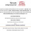 Fórum Empresarial LIDE de Cultura e Inovação