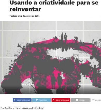Usando a criatividade para se reinventar