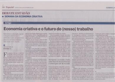 Economia criativa e o futuro do (nosso) trabalho
