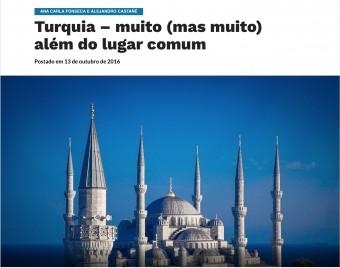 Turquia – muito (mas muito) além do lugar comum