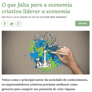 O Que falta para a economia criativa liderar a economia
