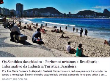 Os Sentidos das cidades – Perfumes urbanos