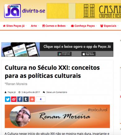 Cultura no Século XXI: conceitos para as políticas culturais