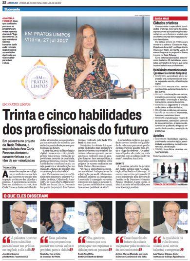 Trinta e cinco habilidades dos profissionais do futuro