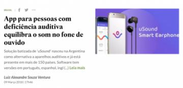 App para pessoas com deficiência auditiva equilibra o som no fone de ouvido