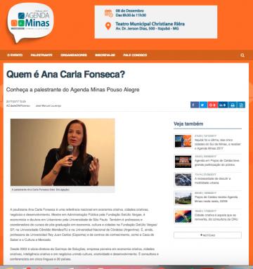 Quem é Ana Carla Fonseca?