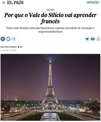 Por que o Vale do Silício vai aprender francês