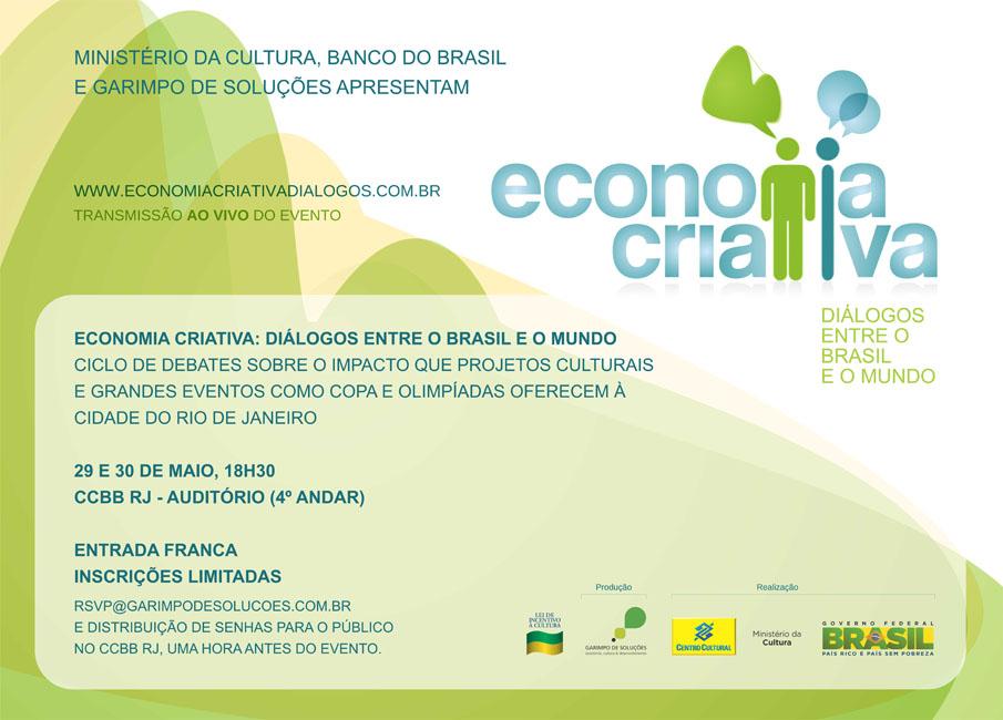 Economia Criativa – Diálogos entre o Brasil e o mundo
