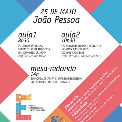 Curso Itinerante de Economia Criativa e Empreendedorismo