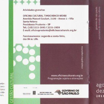 Oficinas de Economia Criativa e Cidades Criativas de São Paulo