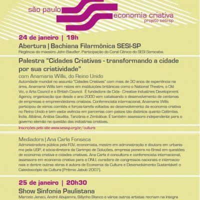 Seminário Internacional SESI/SP de Economia Criativa, Cultura e Negócios