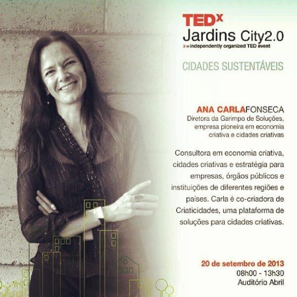TEDx City Jardins 2.0 Cidades Sustentáveis