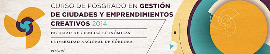 Curso de Pós-graduação em Gestão de Cidades e Empreendimentos Criativos