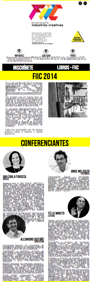Forum Internacional de Industrias Creativas de Puerto Rico – San Juan