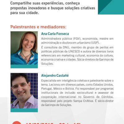 Ciclo di Workshops sulle Città Creative di Minas Gerais