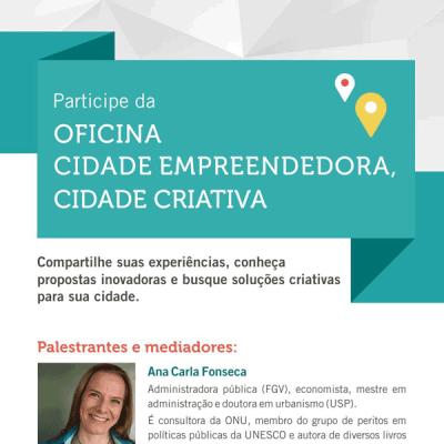 Ciclo de oficinas de Cidades Criativas e Empreendedoras de Minas Gerais